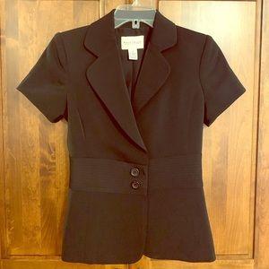 Short Sleeve Women's WHBM Black Blazer